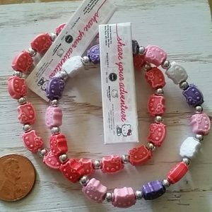 hello kitty bracelet stretch trrtlz brand